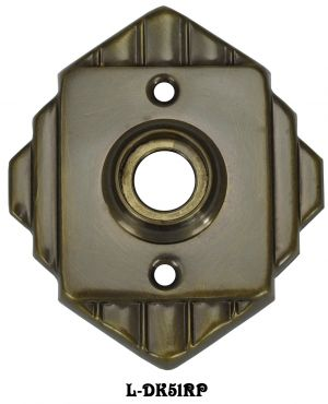 Art-Deco-Doorknob-Rose-Recreated-(L-51RP)