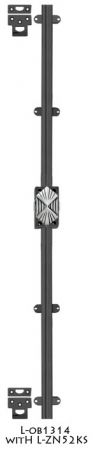 Art-Deco-Style-Door-Bolt---Classic-Modern-Cremone-Door-Security-Bolt-Set-(L-OB1314D)