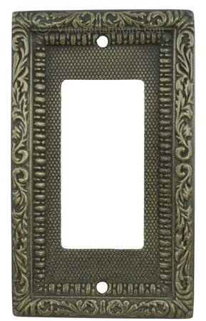 Victorian-Decorative-Brass-Modern-GFI-or-Rocker-Switch-Plate-Cover-(L-W13)