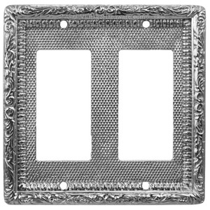 Victorian-Decorative-Double-GFI-or-Rocker-Switch-Plate-Cover-(L-W14)