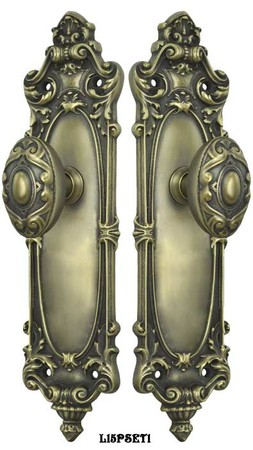 Victorian-Rococo-Yale-Pattern-Interior-Passage-Set-(L15PSET1)