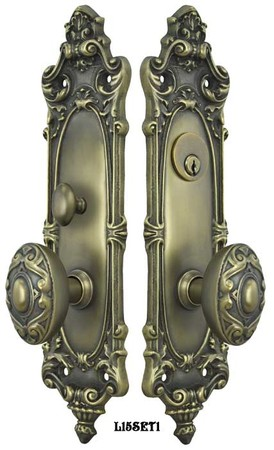 Victorian-Rococo-Yale-Pattern-Entry-Door-Set-(L15SET1)