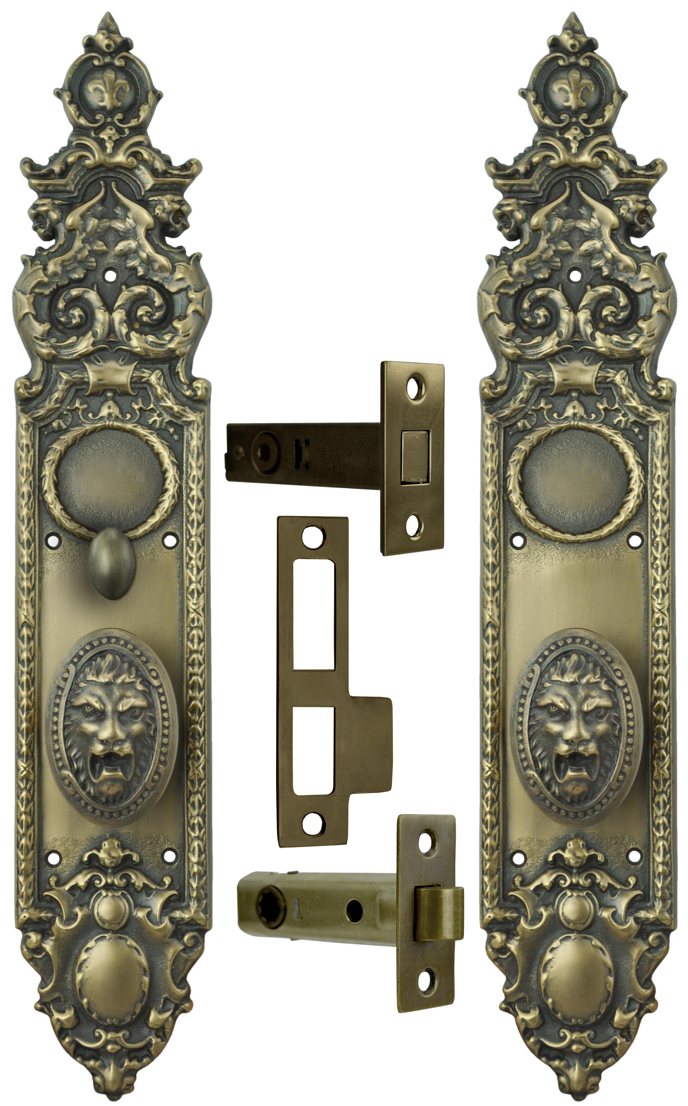 Vintage Hardware Amp Lighting Victorian Heraldic Door