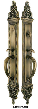 "Victorian Large Entry Door Set 24"" Tall (L42SET)"