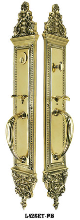 Victorian-Large-Entry-Door-Set-24-inch-Tall-(L42SET)