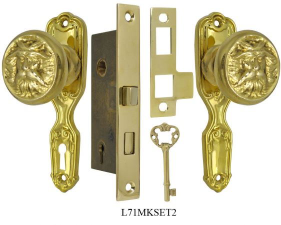Narrow-Backset-French-Door-Set-with-North-Wind-Knob-(L71MKSET2)