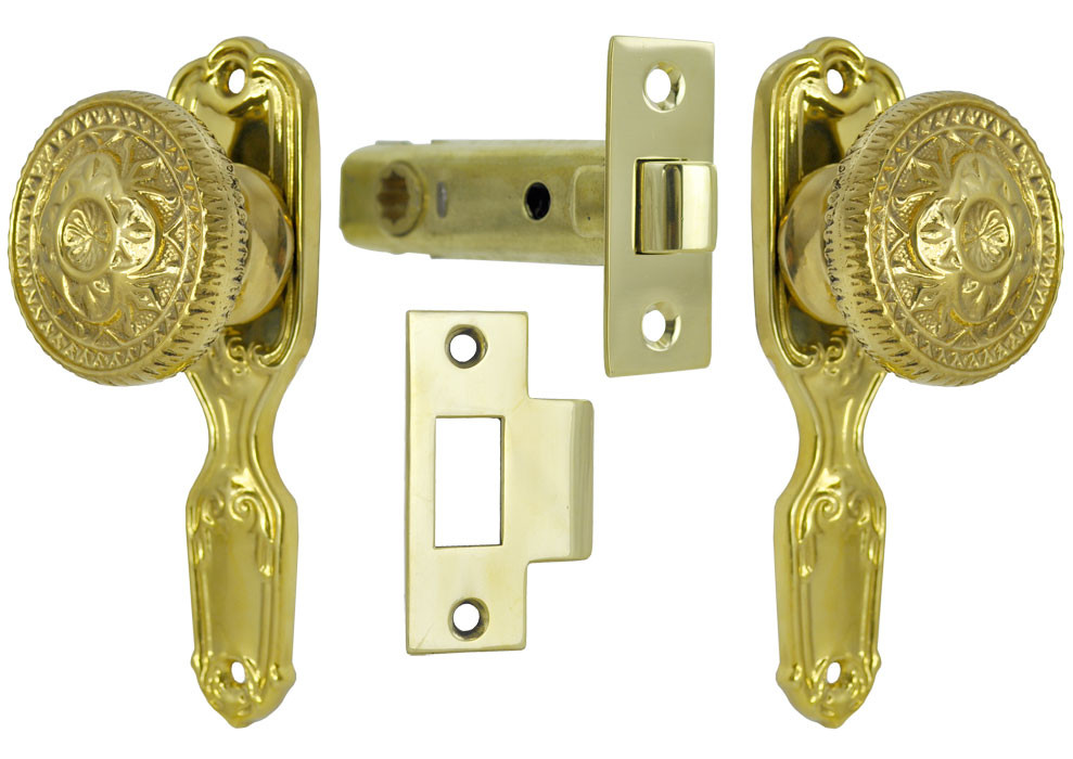 Vintage Hardware Amp Lighting French Door Passage Set With