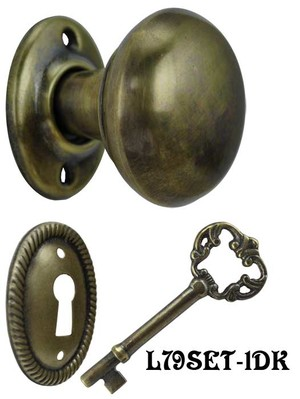 Narrow-Lockset-with-Knobs-for-Small-Backset-Doors-(L79SET-2PB)