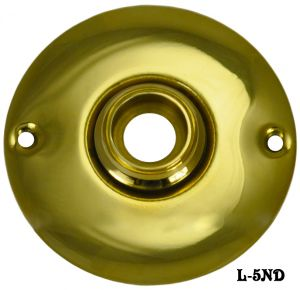 Vintage Style Plain Round Doorknob Rose (L-5ND)