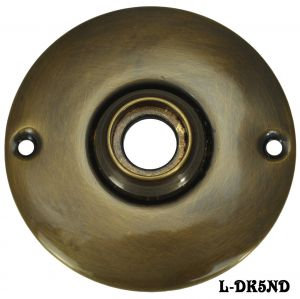 Vintage-Style-Plain-Round-Doorknob-Rose-(L-5ND)