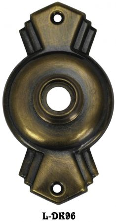 Art-Deco-Winged-Doorknob-Rose-Vintage-Reproduction-(L-96)