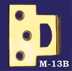 Rectangular Catch Plate With Tongue (M-13B)