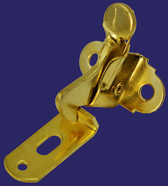 "AmazonStore728: Brainerd 3"" Brass Plated Hook & Eye Latch 31974"
