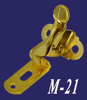 Brass Plated Elbow Latch & Catch (M-21)