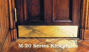 Brass Kickplate 8