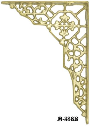 Cast Brass Shelf Bracket (M-38SB)