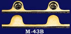Vintage Style Security Double Push Bar Brackets (M-43B)