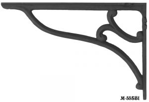 Large Cast Iron Shelf Bracket (M-55SBI)