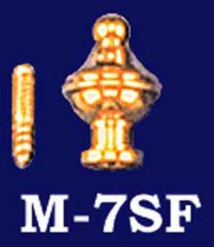 "Brass Finial 1"" (M-7SF)"