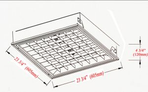 Induction-Standard-2ft-x-2ft-Drop-In-Ceiling-Grid-Inset-Panel-Fixture-(Q03A)