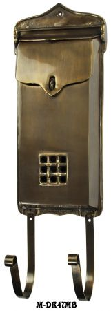 Cast-Brass-Standard-Size-Mail-Box-(M-47MB)