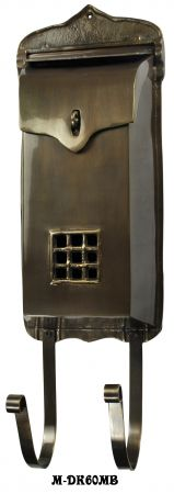 "4"" Deep Brass Mail Box (M-60MB)"