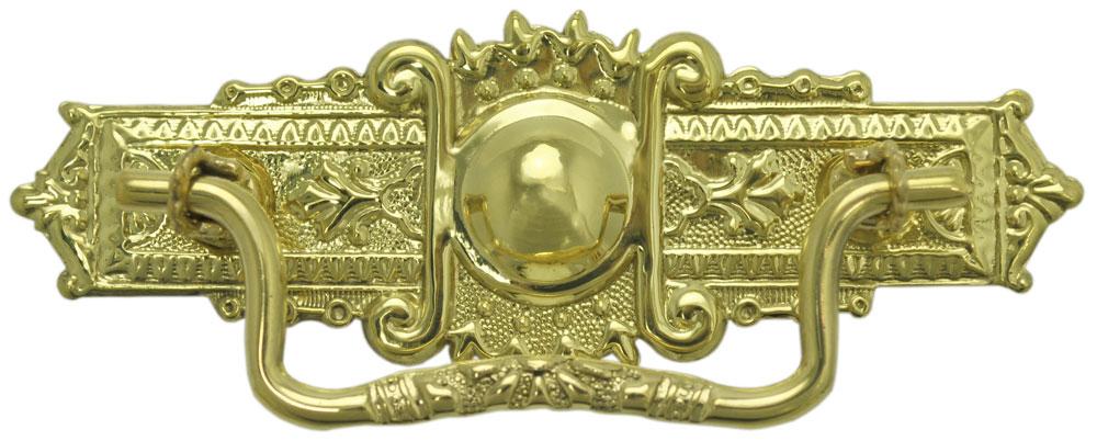 Vintage Hardware Amp Lighting Eastlake Oblong Brass Handle