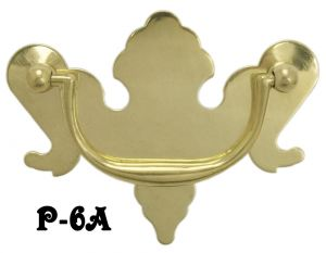 "Period Chippendale Handle 3"" Boring (P-6A)"