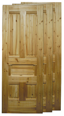 "Victorian Recreated 32"" Solid 5-Panel Wooden Door (PT-32)"