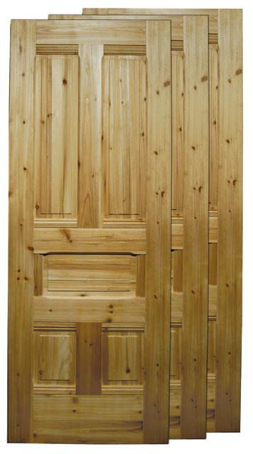 Description Pt 36 Wide Victorian Reproduction Solid 5 Panel Wooden Door