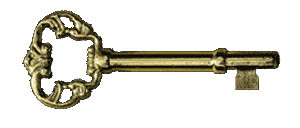 Brass Skeleton Key For S-13 Fully Mortised Cabinet Lock (S-13K)