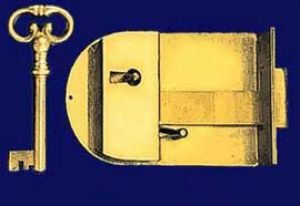 American Style Long Brass Lock with Key (S-A6B)