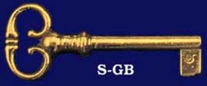 Key Recreated Georgian Style Key Blank (S-GB)