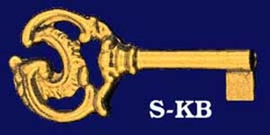 Small Decorative Key Blank (S-XK)