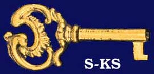 Key Recreated Decorative Skeleton Key (S-KS)