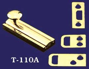 "Small 2"" Cabinet Or Cupboard Extruded Brass Bolt (T-110A)"