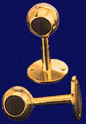 "1"" Diameter Brass Curtain Rod End (T-R1)"