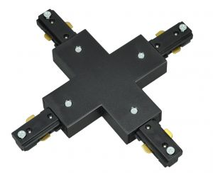 Track Light Track 4-Way Cross Connector (T031-X)