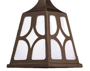 Mission-Electric-Double-Wall-Sconce-Diamond-Shade-(538-DJ1-ES)