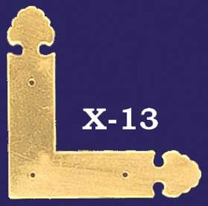 "Fancy ""L"" Flat Trim Piece (X-13)"