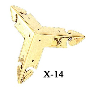 Fancy 3-Sided Molded Corner Trim (X-14)