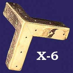 Plain 3 Sided Molded Corner Trim (X 6)