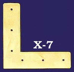 "Plain Design ""L"" Trim Piece (X-7)"