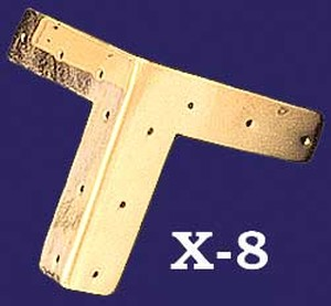 "Plain Base Mounted ""T"" Trim (X-8)"