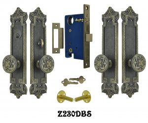 Gothic Byzantine Double Door Entry Set (Z230DBS)