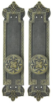 Gothic Byzantine Interior Passage Door Set (Z230LPSET)