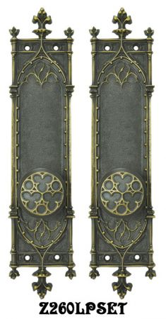 Gothic Amiens Interior Passage Door Set (Z260LPSET)