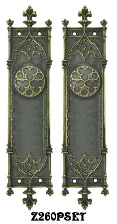 Gothic Amiens Interior Passage Door Set (Z260PSET)