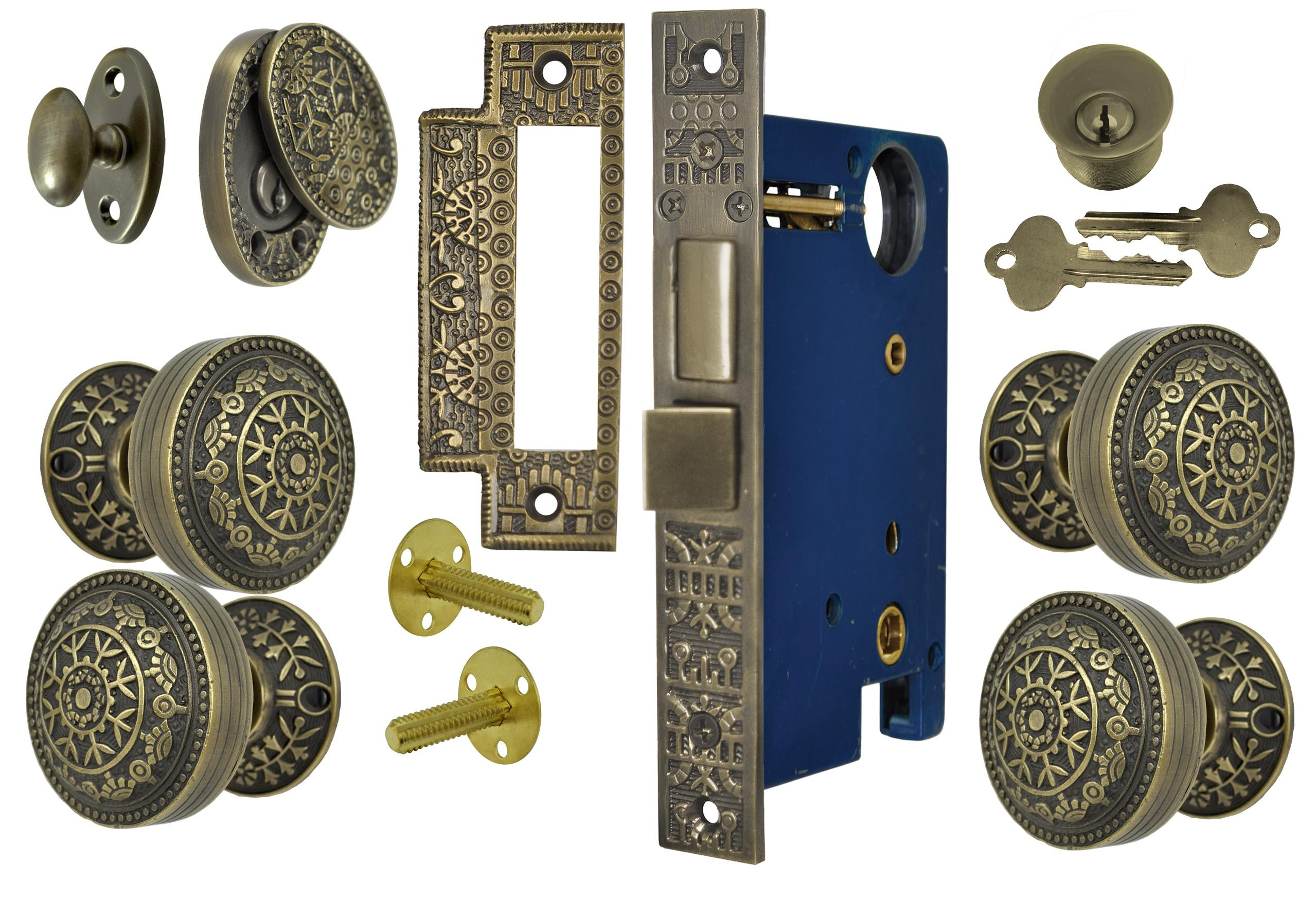 mgctlbxN$MZP mgctlbxV$5.1.11 mgctlbxL$C.  sc 1 st  Vintage Hardware u0026 Lighting & Vintage Hardware u0026 Lighting - Windsor Pattern Double Door Entry Set ...