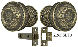 Windsor Pattern Interior Passage Set (Z26PSET3)